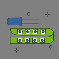 Светодиоды, светодиодные модули, светодиодные ленты