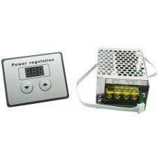 Диммер с дисплеем, Регулятор напряжения AC 4000Вт, 220В