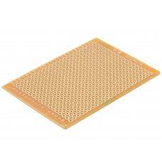 Монтажная макетная плата PCB 50x70мм, шаг 2.54мм, односторонняя