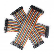 40шт дюпон кабель 10см мама - папа