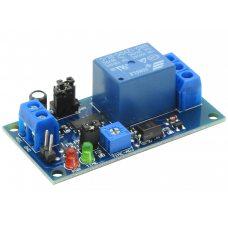 Модуль реле времени с задержкой (5-12В, 10A / AC 250В)