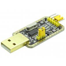 USB - TTL конвертер CH340G 3.3/5В USB (UART RS232 TTL)