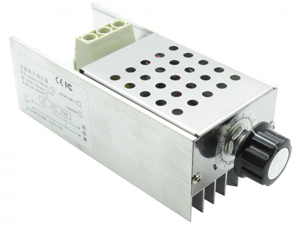 Диммер, Регулятор напряжения AC 10000Вт, 220В