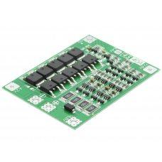 BMS 4S 40A 16,8В Контроллер заряда разряда Li-ion батарей, балансировка