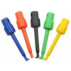 5 шт. Тестовая клипса, крюк, зажим для PCB, SMD, IC