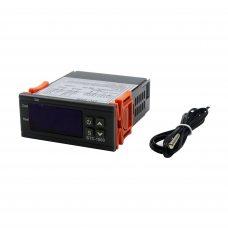 Терморегулятор STC-1000 24V (точность 0.1°C), 220В, два реле 10А, -50 ~ +99°C, с выносным датчиком
