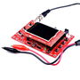 Осциллограф JYE Tech DSO138, 12 бит, 200 кГц, 9В. Собранный