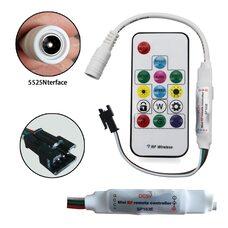 Контролер RGB LED WS2812B адресный беспроводный