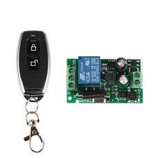 433МГц одноканальный беспроводной выключатель на 220В с таймером + Пульт