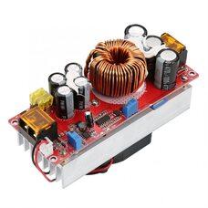 1800Вт, 30А Повышающий преобразователь с регулировкой напряжения, тока, 10-60В до 12-90В