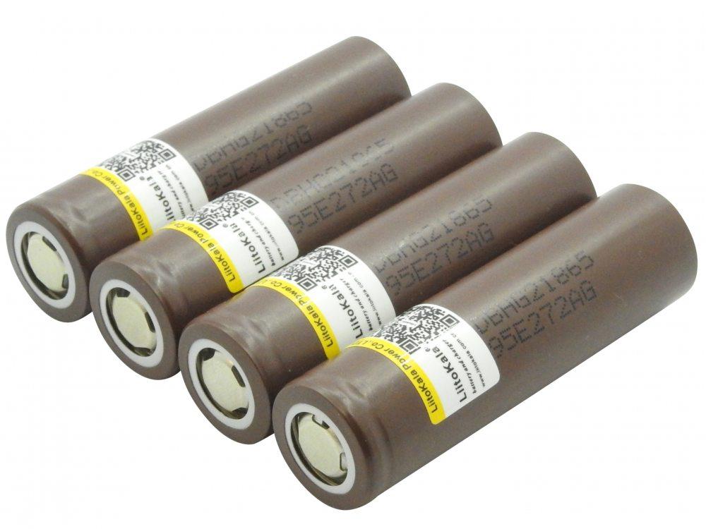Li-ion аккумулятор LG HG2 3000mAh 3.7V 20A высокотоковый