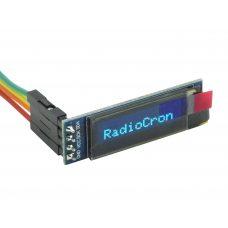OLED дисплей 0.91 I2C (синий) 128х32