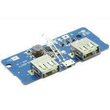 Модуль PowerBank, 2 x USB 5В, 2А