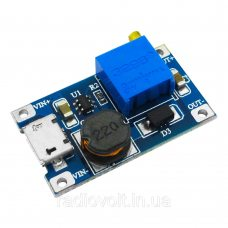 MT3608 MicroUSB Повышающий преобразователь с регулировкой напряжения